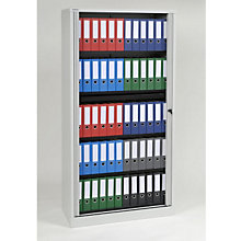 "Tambour Door Locking Storage Cabinet - 78""H, EMI-TAMK7"