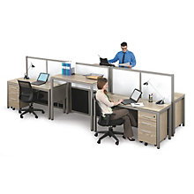 Four Person Station with Dividers, 8803999
