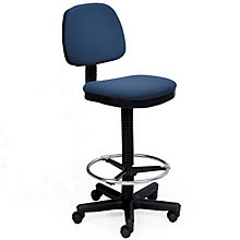 Armless Low Back Drafting Stool, ERC-E20551-ST
