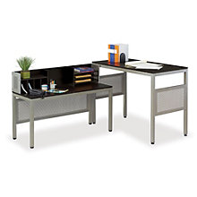 "At Work Standing Height L-Desk 60"" x 90"", OFG-LD1223"