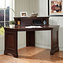 Belcourt Corner Desk with Hutch, ERE-01217