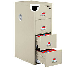 Fireproof Three Drawer Vertical File - Legal Size, FIR-3-2131-C