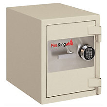 Fireproof 1.3 Cubic Ft Safe with Drill Resistant Lock, FIR-10775