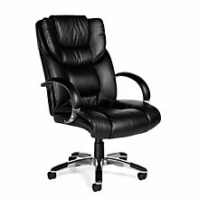 High Back Tufted Faux Leather Executive Chair, OTG-11633B