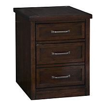 "Cabin Creek Two Drawer Mobile Pedestal - 18"" W, HOT-10805"