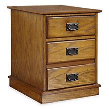 """Modern Craftsman Two Drawer Mobile Pedestal - 18"""" W, HOT-10809"""