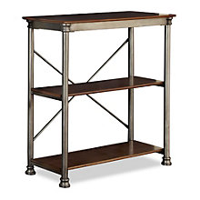 "The Orleans Three Veneer Shelf Open Storage - 39"", HOT-10824"