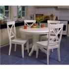 Antique White 5-Piece Dining Set, FOG-DN1092