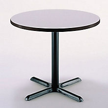 "42"" Round Table with Pedestal Base, KFI-T42RD-B2025"