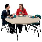 "ABS Plastic Folding Table 60"" Round, KRU-DLR60"