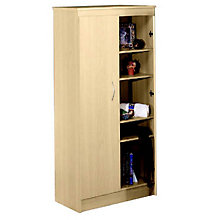 Natural Maple Storage Cabinet, MEG-563