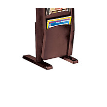 2-Leg Base for Magazine Rack, LES-X0300ML