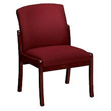 Transitional Fabric Armless Guest Chair, 8802886