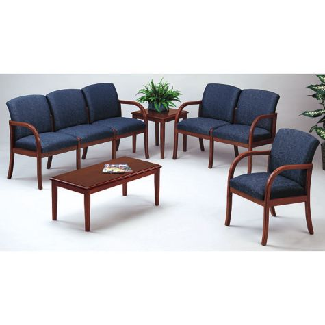 Weston Transitional Reception Seating Set