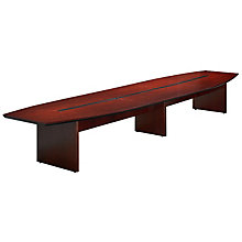 Corsica Boat Shaped Conference Table - 18', MAL-CMT18