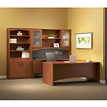 Cherry Laminate U-Desk Grouping, OFG-UD1080