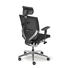 Arris High Back Mesh Ergonomic Chair with Fabric Seat, MAO-207HF