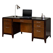 Lancaster Double Pedestal Executive Desk, MRN-10489