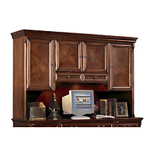 Cobblestone Cherry Hutch with Task Light, MRT-MV722