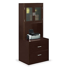 "Two Drawer Lateral File with Hutch - 32""W, MRN-10753"