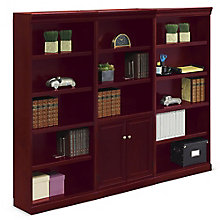 "15 Shelf Library Wall - 72""H, 8802924"