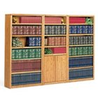 Medium Oak Bookcase Set, OFG-BC1043