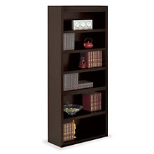 "Six Shelf Open Bookcase - 78""H, MRN-10745"