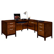 Lancaster Right Return L-Desk, MRN-10486