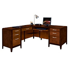 Lancaster L-Desk with Left Return, MRN-10490