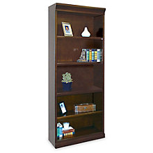 "Fulton Five Shelf Contemporary Bookcase - 72"" H, MRN-FL3072"