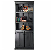Southampton Onyx Bookcase with Doors, MRT-SO3072D