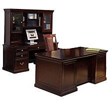 Fulton Espresso Three Piece Office Group, OFG-EX1008
