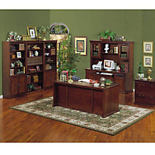 Huntington Cherry Seven Piece Office Suite, OFG-EX1054