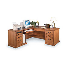 Wheat Finish Left  L-Desk, OFG-LD0033