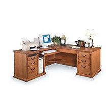Wheat Finish Left  L-Desk, OFG-LD0033