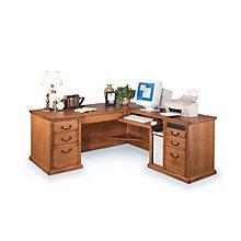 Wheat Oak Right L-Desk, OFG-LD0032