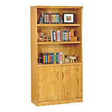 Waterfall Bookcase with Doors, MRT-WF3670DX