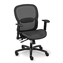 Big and Tall Computer Chair in Mesh, OFF-10540