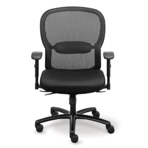 Big and Tall Memory Foam puter Chair in Mesh