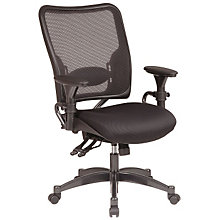 Mid Back Mesh and Fabric Ergonomic Task Chair, OFF-6806