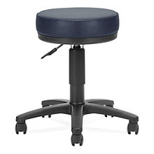 Vinyl Backless Stool, OFM-902-VAM