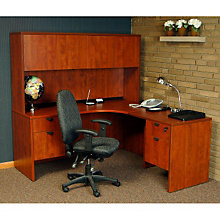 "Right Return L-Desk with Hutch - 71""W x 83""D, OFG-LD1141"