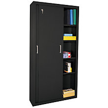 "Sliding Door Storage Cabinet - 72""H, SAN-S361872"
