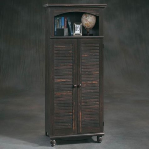 Harbor View Computer Armoire by Sauder | OfficeFurniture.com