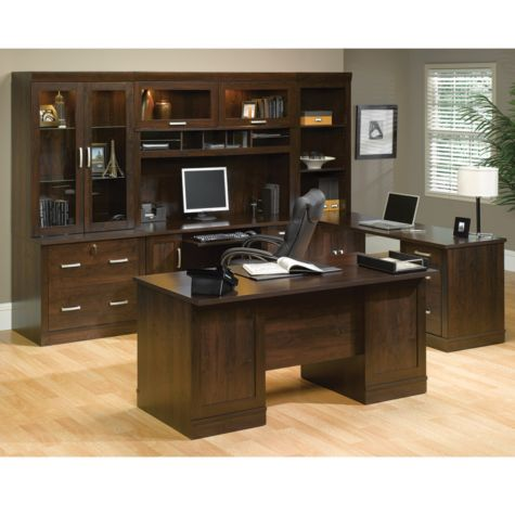 Dark Alder Exec Office Suite 65 5 W By Sauder