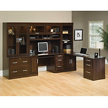 Office Port Dark Alder Complete Office Suite, OFG-EX0006