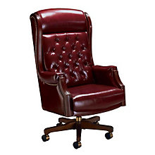 Presidential Traditional Tufted Leather Judges Chair, SIC-92213NH