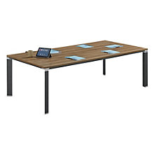 "Empire Triangular Leg Conference Table - 94""W, 8801823"