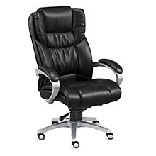 High-Back Faux Leather Executive Chair, 8804282