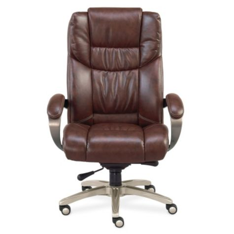 High Back Faux Leather Executive Chair By NBF
